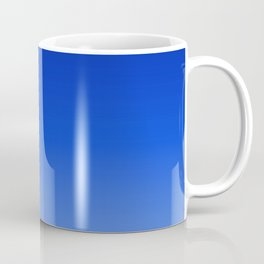 Deep Blue/Light Blue Ombre Coffee Mug