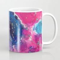 mars Mugs featuring Mars by Heather Plewes Art