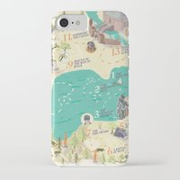 princess bride iPhone & iPod Cases featuring Princess Bride Discovery Map by Wattle&Daub