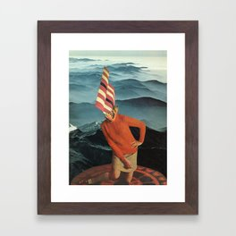 Fire Rites Framed Art Print