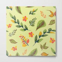 Flower Design Series 2 Metal Print