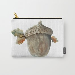 Fall acorn and oak leaves Carry-All Pouch