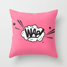 WAP ART Throw Pillow