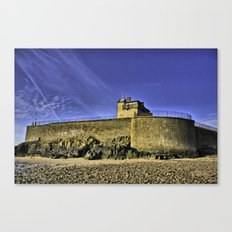 Broughty Castle, Tayside Canvas Print