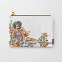 Summer Lily Carry-All Pouch