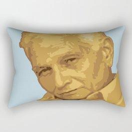 Jacques Derrida Rectangular Pillow