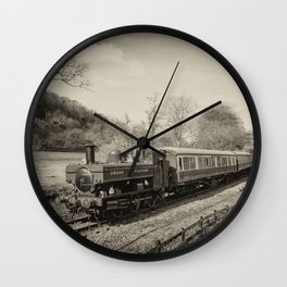 Dart Valley Steam  Wall Clock