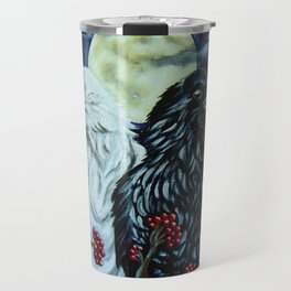 Raven Spirits Travel Mug