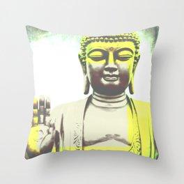 Buddha II Throw Pillow