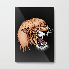 tiger king Metal Print