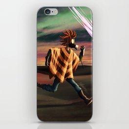 Air Raid in the Battlefield iPhone Skin
