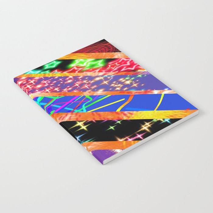 Crazy bright colours Notebook