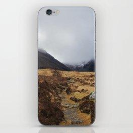 Black Cuillin iPhone Skin