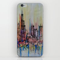 chicago iPhone & iPod Skins featuring Chicago by silvsstang