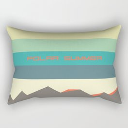 Polar summer - upside down world Rectangular Pillow