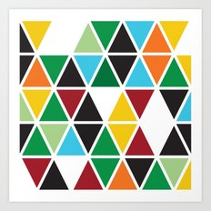 Geometrics-Bold Multi Art Print