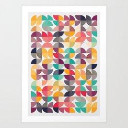 Talk Talk Art Print