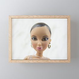 Isolated Glamour Framed Mini Art Print