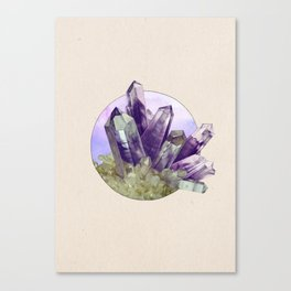 Amethyst - Into the Woods Canvas Print