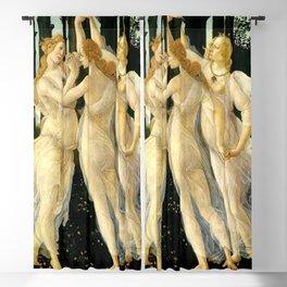 "Sandro Botticelli ""Spring"" The Three Graces (1) Blackout Curtain"
