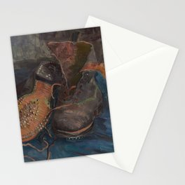 Vincent van Gogh - A Pair of Boots (1887) Stationery Cards