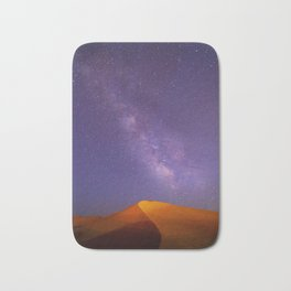 Aladdin Desert Desert At Night Bath Mat