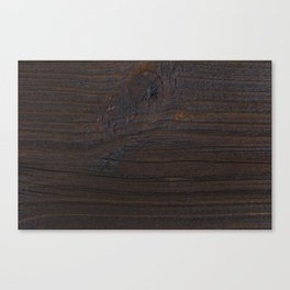 wood texture as background Canvas Print