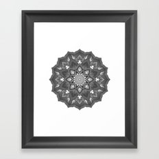 otherwise mandala Framed Art Print
