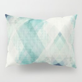 pastel art, pastel abstract, watercolor art print, Abstract art, blue abstract, abstract print Pillow Sham