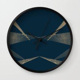 Angular Lines Wall Clock