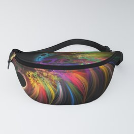 Rainbow rhinoceros Fanny Pack
