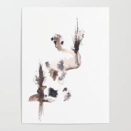 The Emperor- 151124  Abstract Watercolour Poster