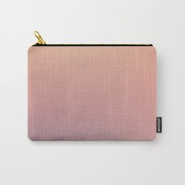 AFTER THOUGHTS - Minimal Plain Soft Mood Color Blend Prints Carry-All Pouch
