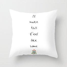 Home (Harry) Throw Pillow