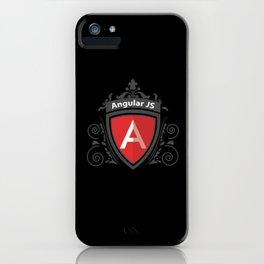 AngularJS Vintage Royal Design iPhone Case