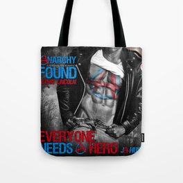 Anarchy Found (Superhero Romance)  - by JA Huss Tote Bag