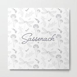 Sassenach Metal Print