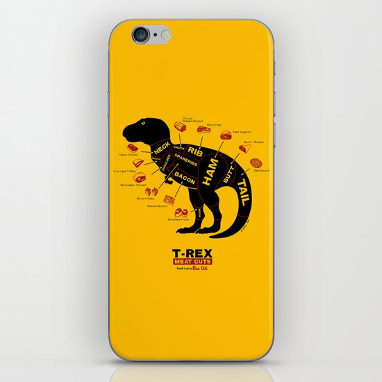 Dino Deli iPhone & iPod Skin
