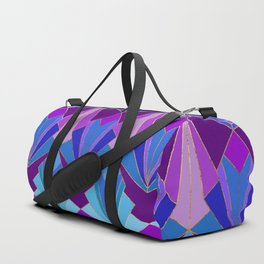 Peacock Art Deco - Large Scale Duffle Bag