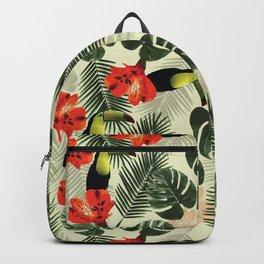Tropic pattern 002 Backpack