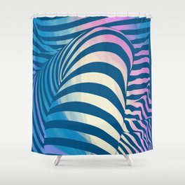 Shapes Of Things Shower Curtain