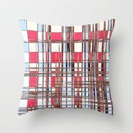 Abstract Coleus Throw Pillow