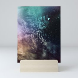Polychrome Moon Mini Art Print