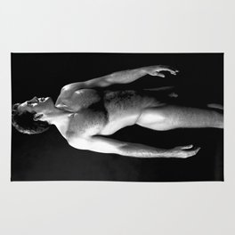 Classic Nude Male Rug