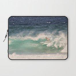 NEVER STOP EXPLORING - SURFING HAWAII Laptop Sleeve