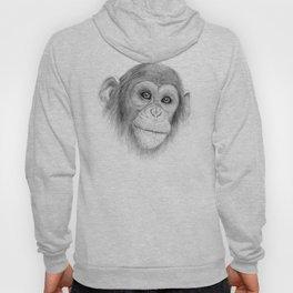A Chimpanzee :: Not Monkeying Around Hoody