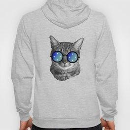Funny Cat Tee - Micronesia Hoody