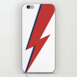 Bowie Bolt iPhone Skin