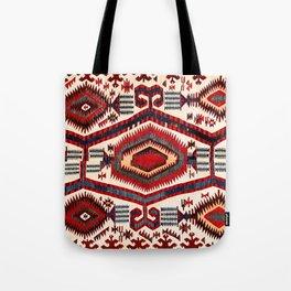 Konya Antique Turkish Kilim Tote Bag
