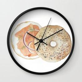 Bagel & Lox Vol. 3 Wall Clock